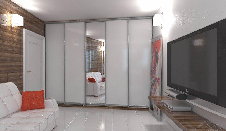 Дизайн интерьера однокомнатной квартиры в стиле минимализм по ул. Чапаева 30 6