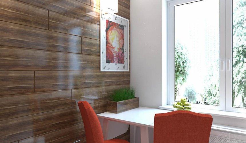 Дизайн интерьера однокомнатной квартиры в стиле минимализм по ул. Чапаева 30 9