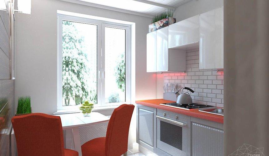 Дизайн интерьера однокомнатной квартиры в стиле минимализм по ул. Чапаева 30 10