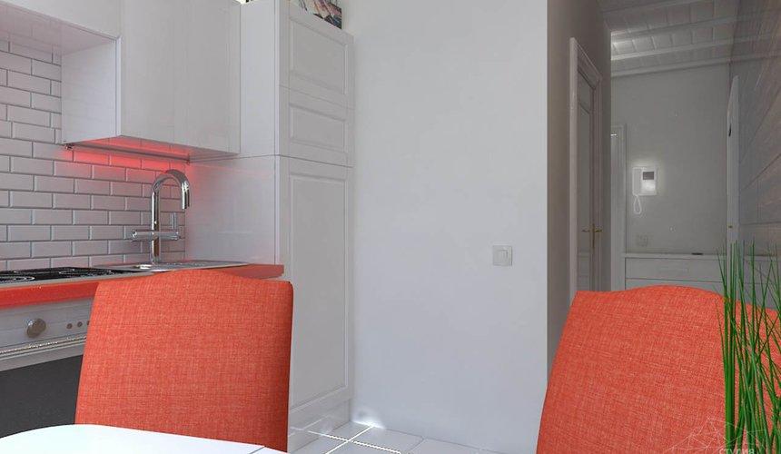 Дизайн интерьера однокомнатной квартиры в стиле минимализм по ул. Чапаева 30 11