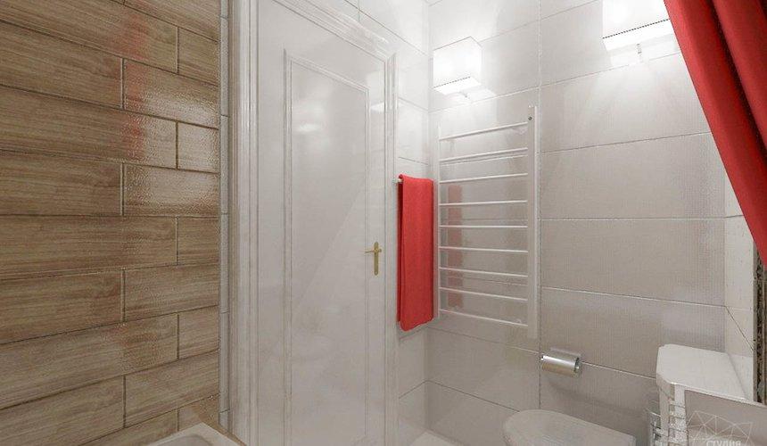 Дизайн интерьера однокомнатной квартиры в стиле минимализм по ул. Чапаева 30 14