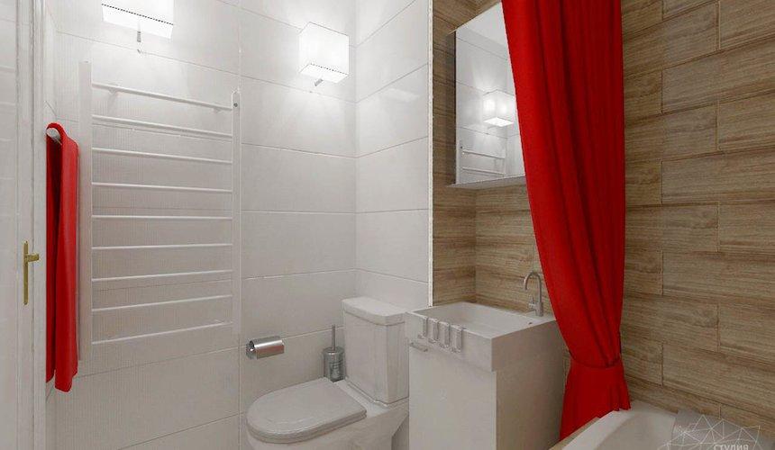 Дизайн интерьера однокомнатной квартиры в стиле минимализм по ул. Чапаева 30 12