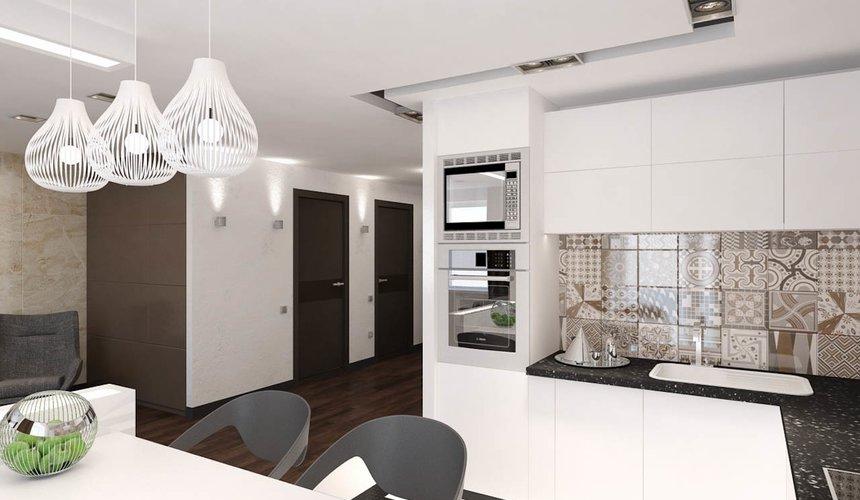 Дизайн интерьера однокомнатной квартиры по ул. Гагарина 27 3