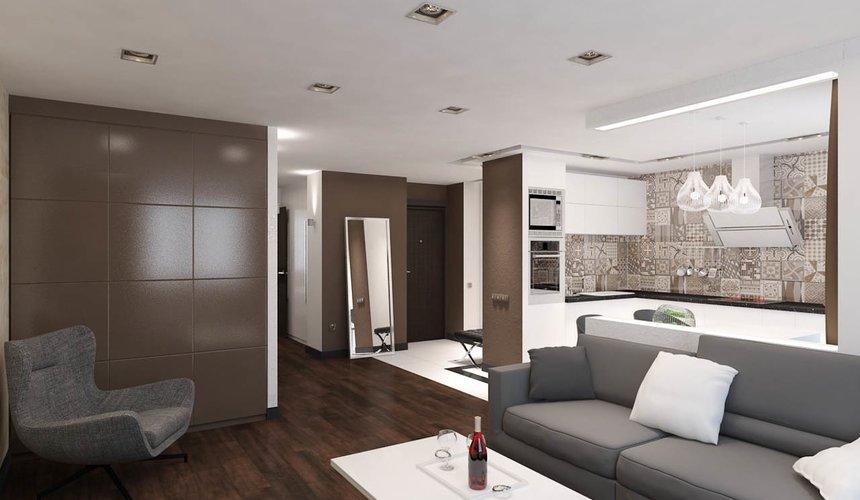 Дизайн интерьера однокомнатной квартиры по ул. Гагарина 27 8