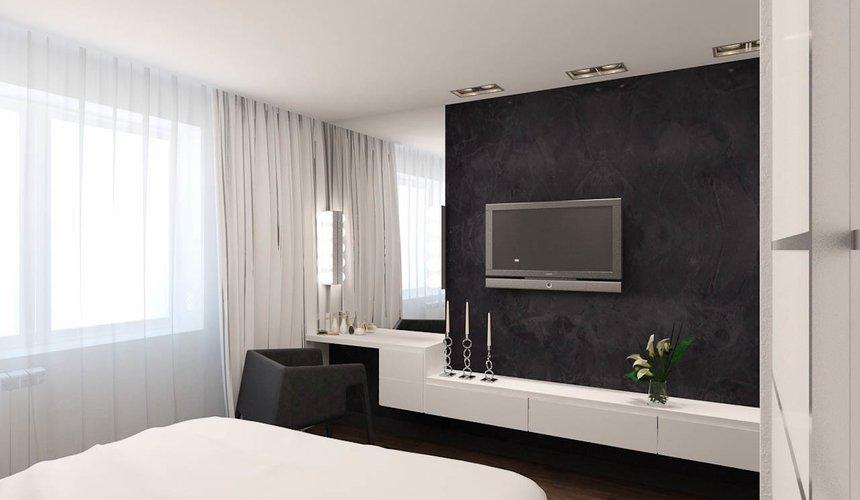 Дизайн интерьера однокомнатной квартиры по ул. Гагарина 27 14