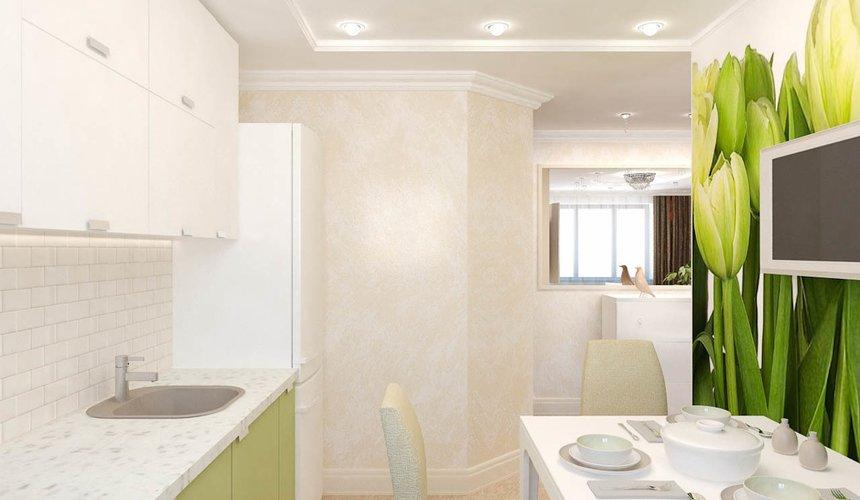 Дизайн интерьера двухкомнатной квартиры по ул. Бебеля 156 7