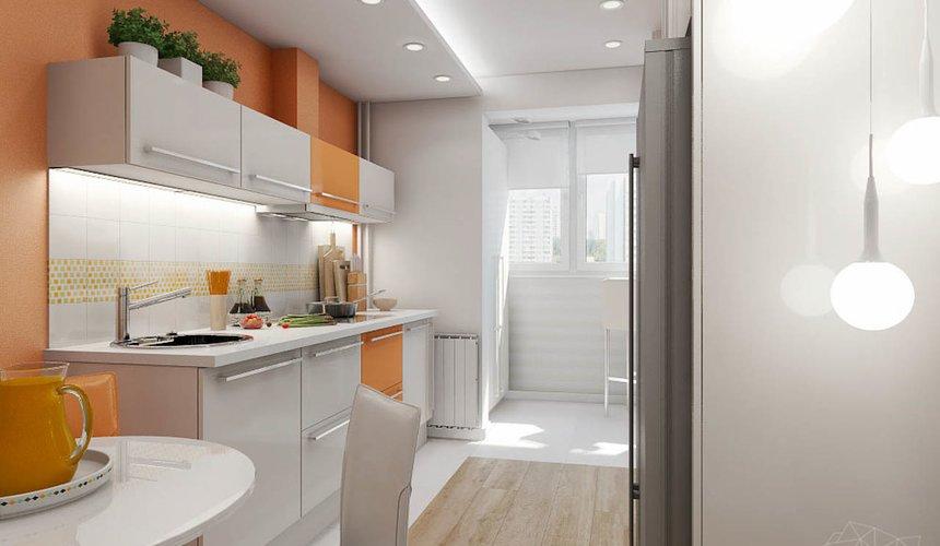 Дизайн интерьера однокомнатной квартиры в современном стиле по ул. Агрономическая 47 3