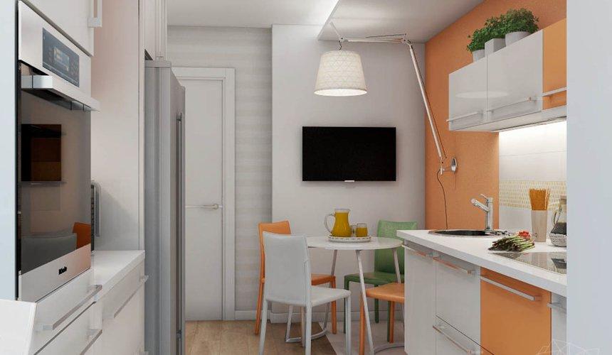 Дизайн интерьера однокомнатной квартиры в современном стиле по ул. Агрономическая 47 2