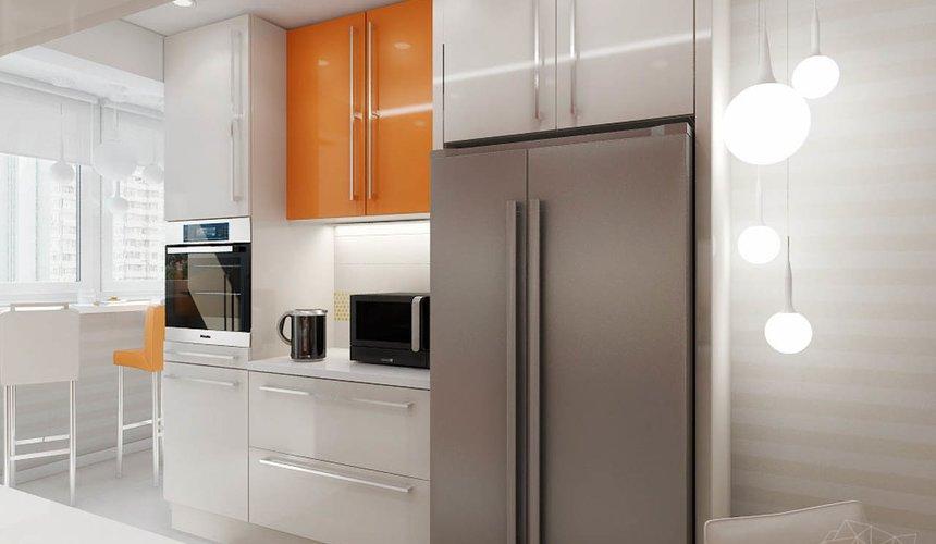 Дизайн интерьера однокомнатной квартиры в современном стиле по ул. Агрономическая 47 4