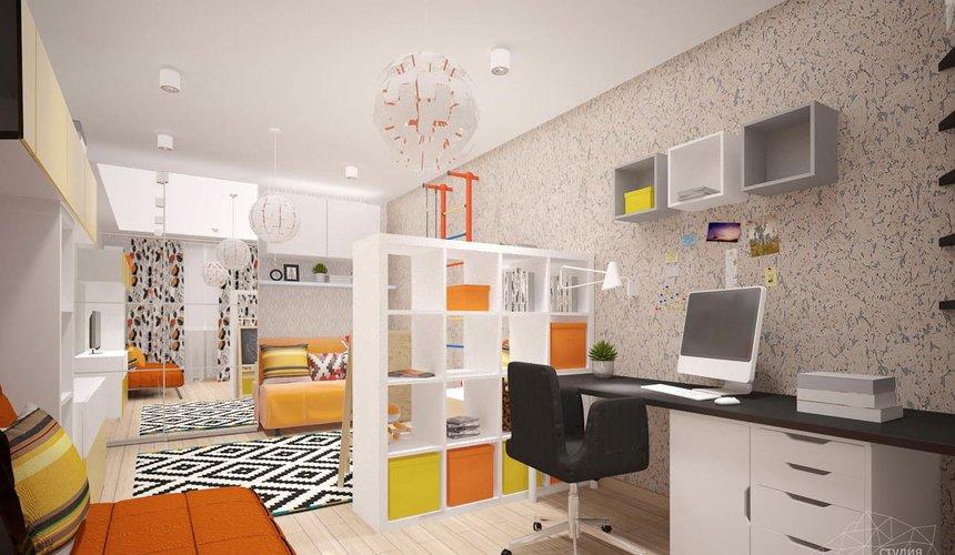 Дизайн интерьера однокомнатной квартиры в современном стиле по ул. Агрономическая 47 7