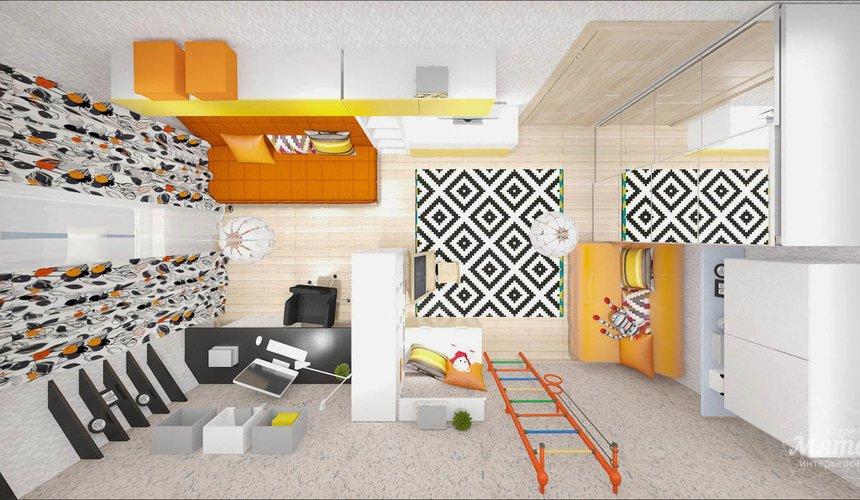 Дизайн интерьера однокомнатной квартиры в современном стиле по ул. Агрономическая 47 8