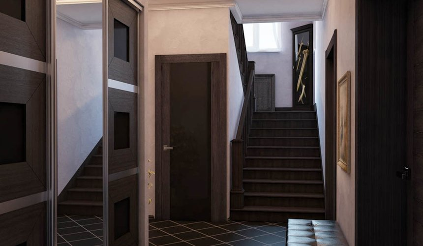 Дизайн интерьера коттеджа в п. Новый Исток 29