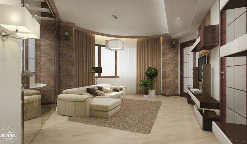 Дизайн интерьера трехкомнатной квартиры по ул. Куйбышева 21-2 4
