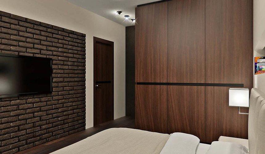 Дизайн интерьера однокомнатной квартиры в стиле хай тек по ул. Щербакова 35 4
