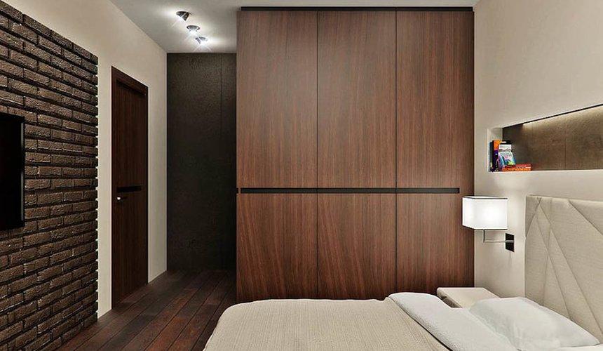 Дизайн интерьера однокомнатной квартиры в стиле хай тек по ул. Щербакова 35 5