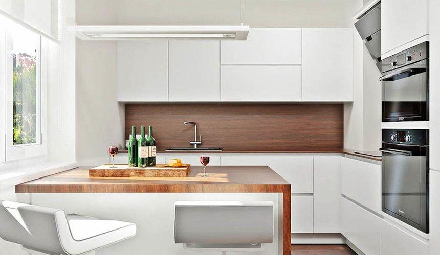 Дизайн интерьера однокомнатной квартиры в стиле хай тек по ул. Щербакова 35 11