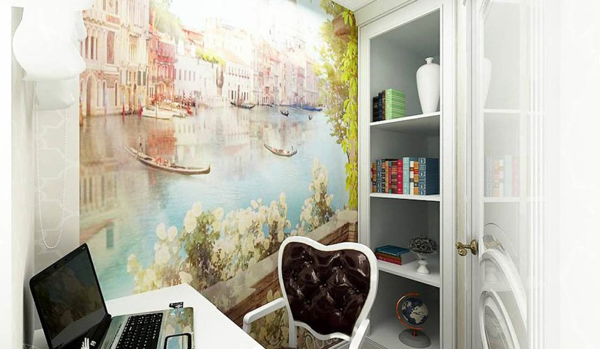 Дизайн интерьера трехкомнатной квартиры по ул. Юмашева 1 18
