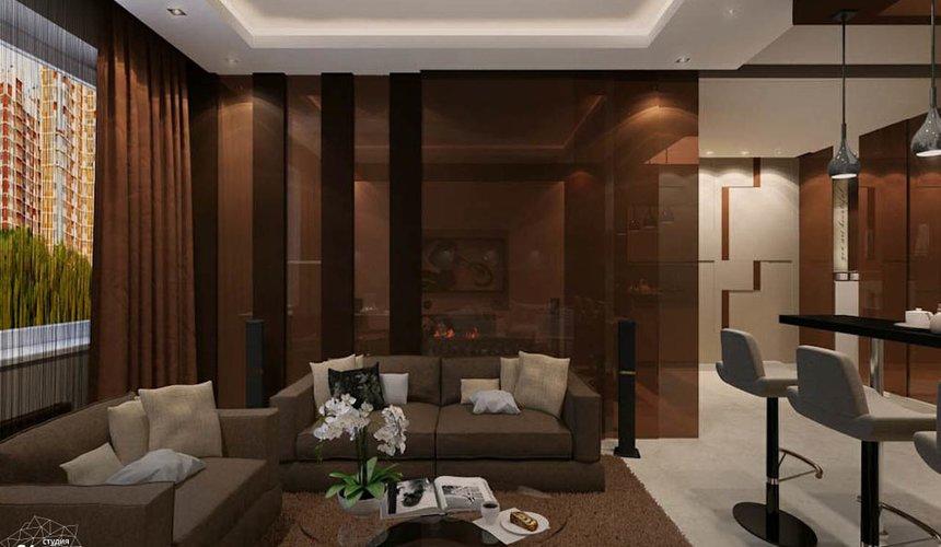 Дизайн интерьера однокомнатной квартиры по ул. Громова 30 3