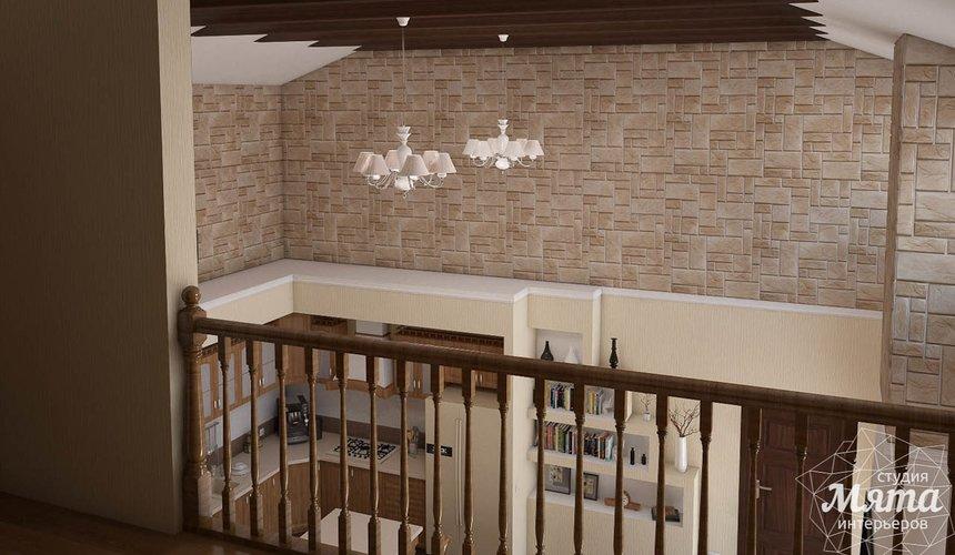 Дизайн интерьера коттеджа в современном стиле в п. Образцово  8