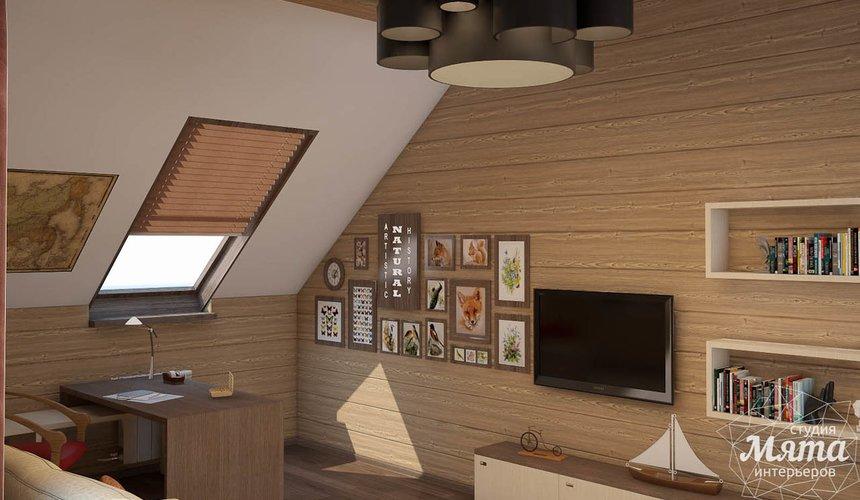 Дизайн интерьера коттеджа в п. Галактика  25