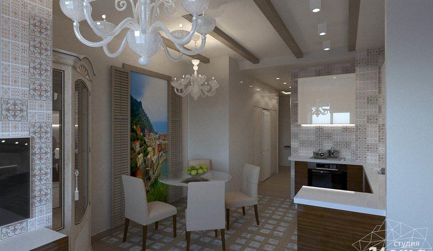 Дизайн интерьера трехкомнатной квартиры по ул. Мельникова 27 3