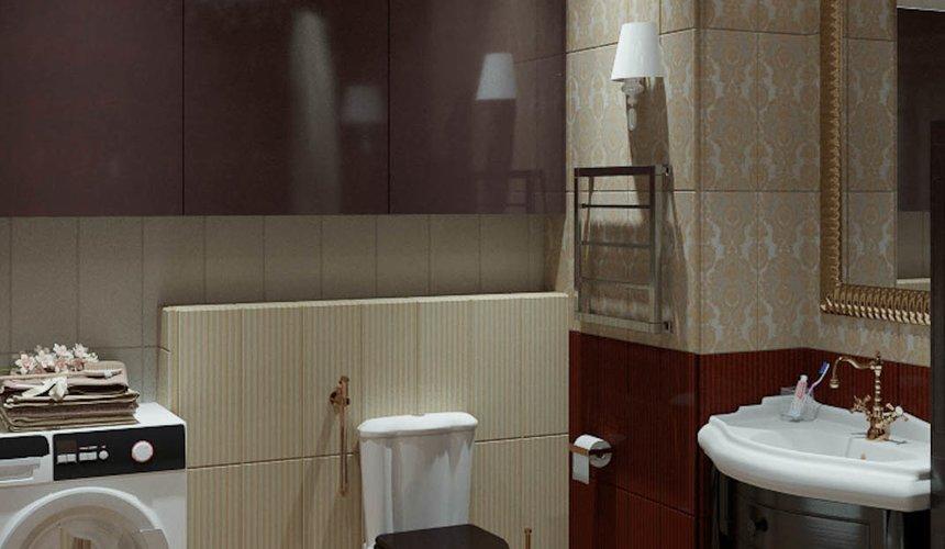 Дизайн интерьера и ремонт трехкомнатной квартиры в Карасьозерском 2 49