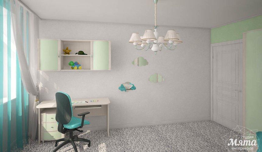 Дизайн интерьера  и ремонт трехкомнатной квартиры по ул. Машинная 44 33