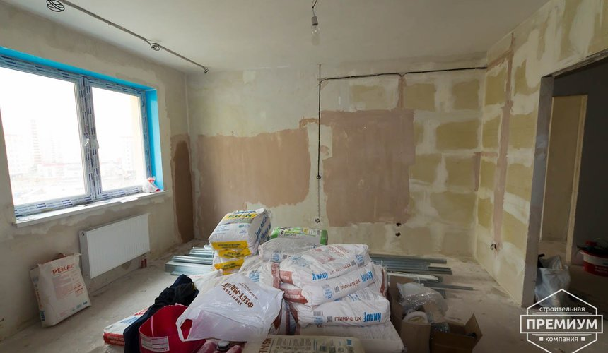 Дизайн интерьера и ремонт трехкомнатной квартиры по ул. Авиационная, 16  24