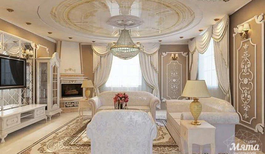 Дизайн интерьера коттеджа классическом стиле в Карасьозерске 13
