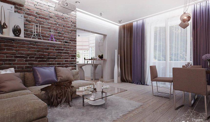 Дизайн интерьера двухкомнатной квартиры по ул. Малышева 38 2