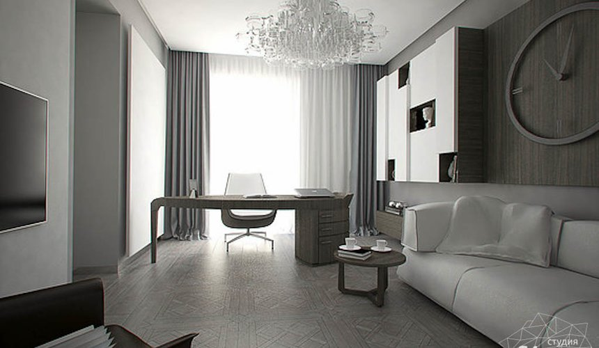 Дизайн интерьера трехкомнатной квартиры в Тихвине 2 11