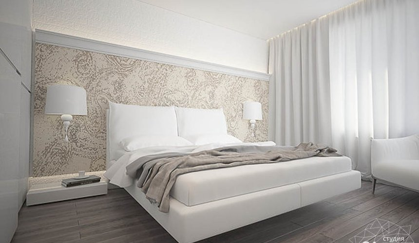 Дизайн интерьера трехкомнатной квартиры в Тихвине 2 14