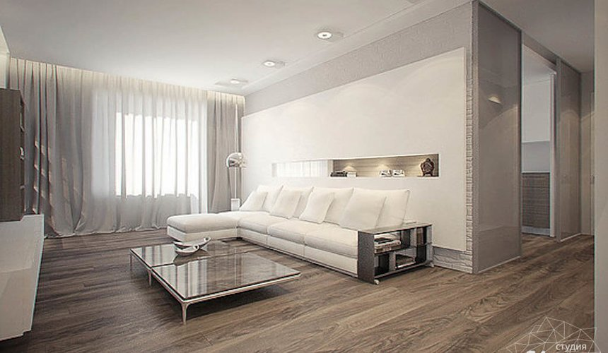 Дизайн интерьера трехкомнатной квартиры по ул. Юмашева 8 5