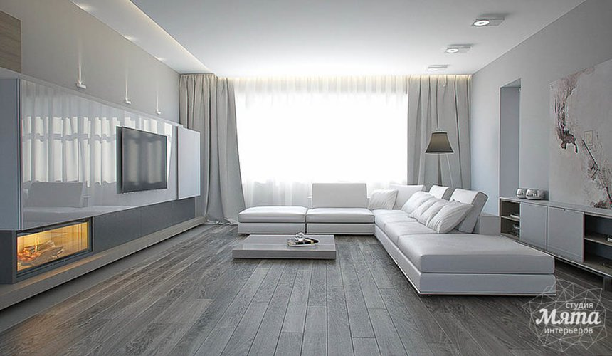 Дизайн интерьера двухкомнатной квартиры по ул. Жукова 14 5