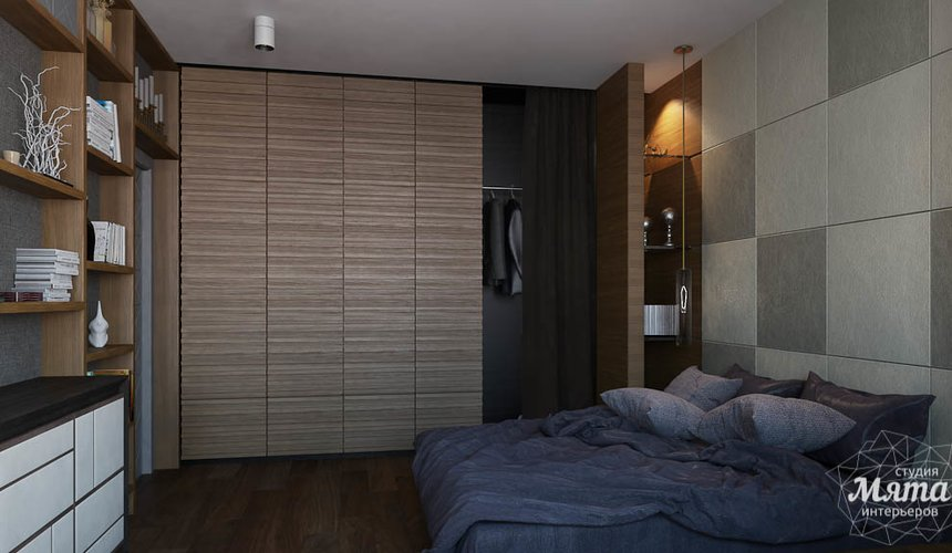 Дизайн интерьера двухкомнатной квартиры по ул. Юмашева 9 6