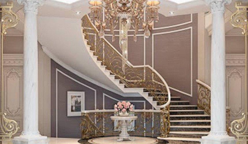Дизайн интерьера коттеджа классическом стиле в Карасьозерске 9