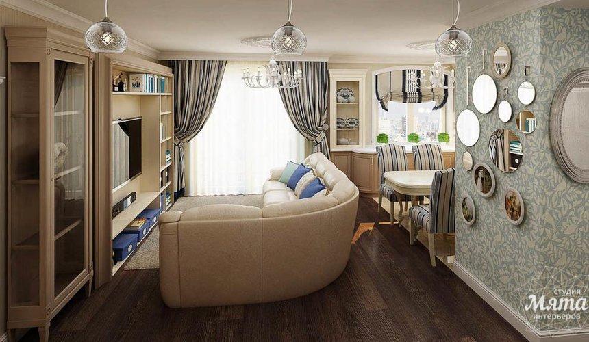 Дизайн интерьера однокомнатной квартиры по ул. Юмашева 10 6