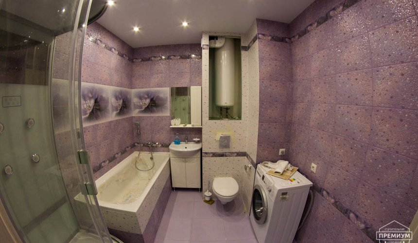 Дизайн интерьера  и ремонт трехкомнатной квартиры по ул. Машинная 44 16
