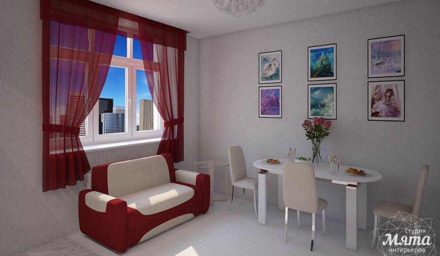 Дизайн интерьера  и ремонт трехкомнатной квартиры по ул. Машинная 44 24
