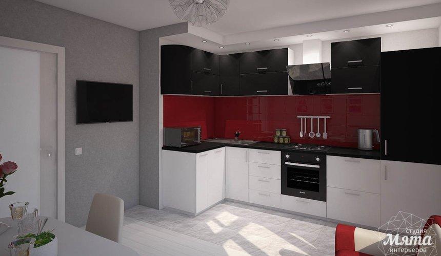 Дизайн интерьера  и ремонт трехкомнатной квартиры по ул. Машинная 44 26