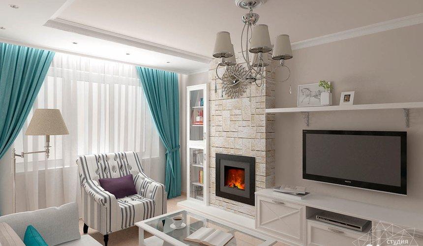 Дизайн интерьера двухкомнатной квартиры по ул. Шаумяна 93 4