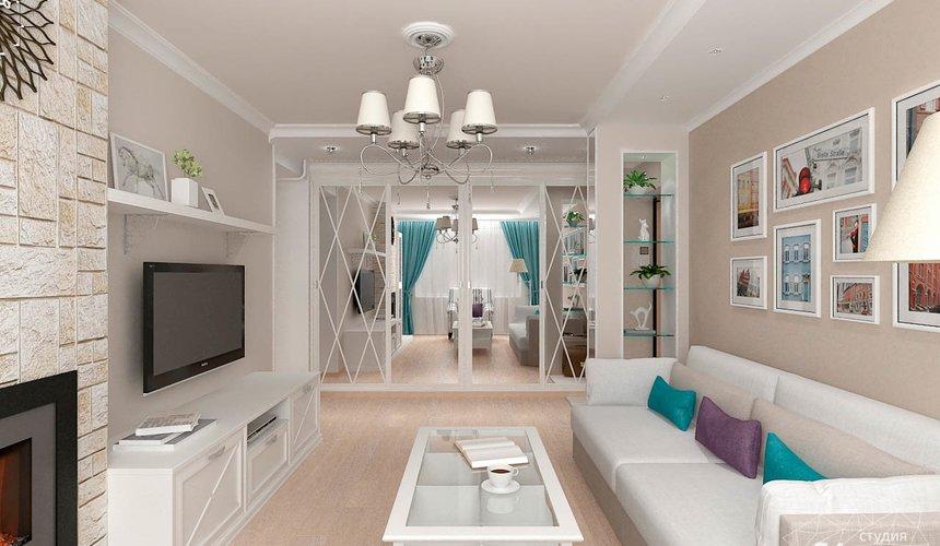 Дизайн интерьера двухкомнатной квартиры по ул. Шаумяна 93 6