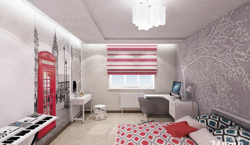 Дизайн интерьера и ремонт трехкомнатной квартиры по ул. Авиационная, 16  81