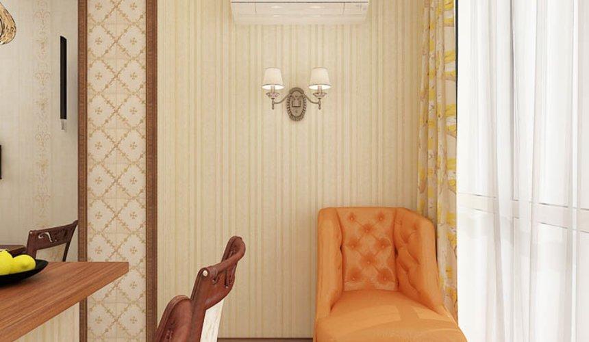 Дизайн интерьера и ремонт трехкомнатной квартиры по ул. Авиационная, 16  69