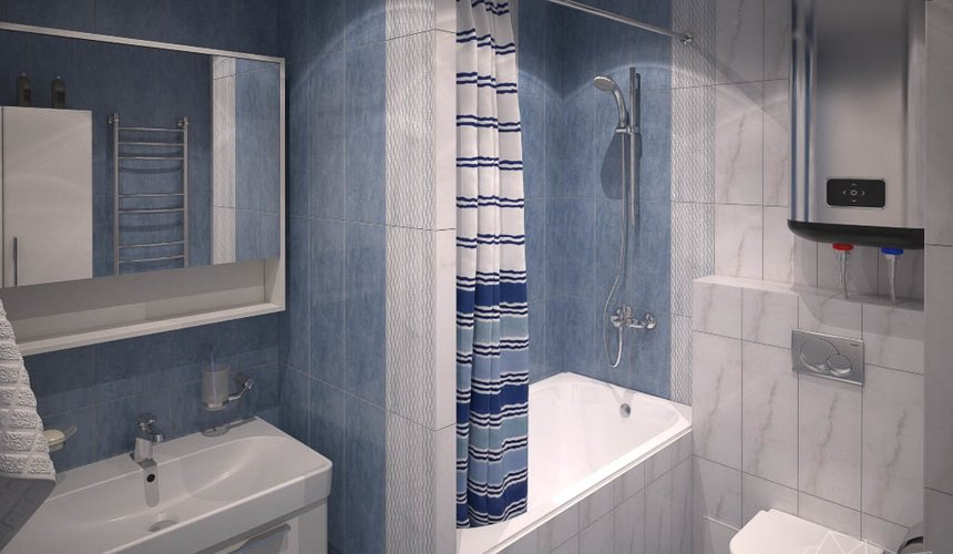 Дизайн интерьера однокомнатной квартиры по ул. Электриков 5 12
