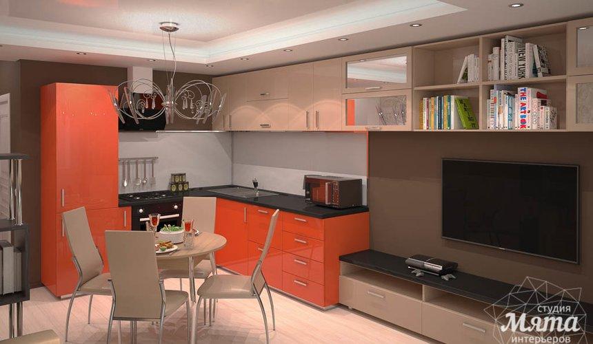 Дизайн интерьера однокомнатной квартиры по ул. Электриков 5 2