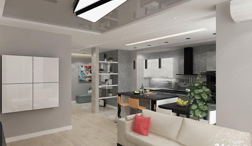 Дизайн интерьера двухкомнатной квартиры в ЖК Крылов 6