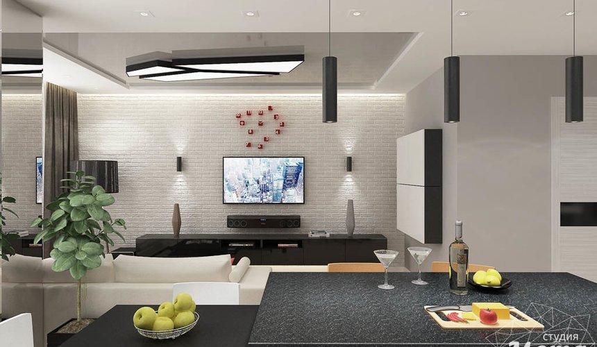 Дизайн интерьера двухкомнатной квартиры в ЖК Крылов 7