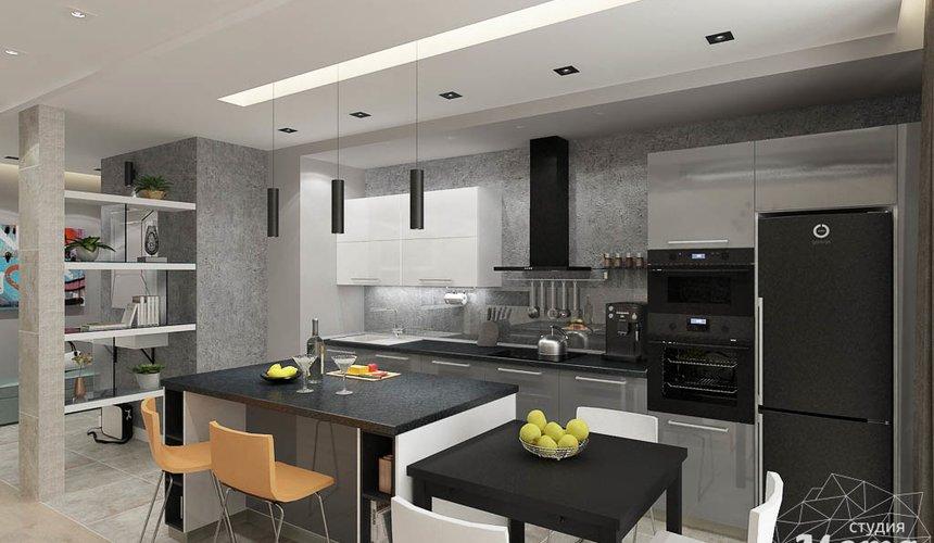 Дизайн интерьера двухкомнатной квартиры в ЖК Крылов 9