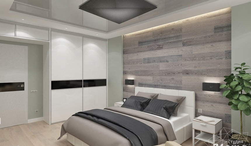 Дизайн интерьера двухкомнатной квартиры в ЖК Крылов 14